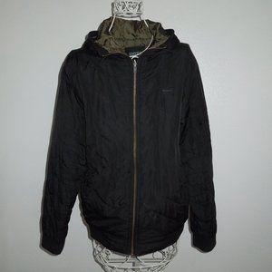 Ezekiel Black Hooded Jacket M